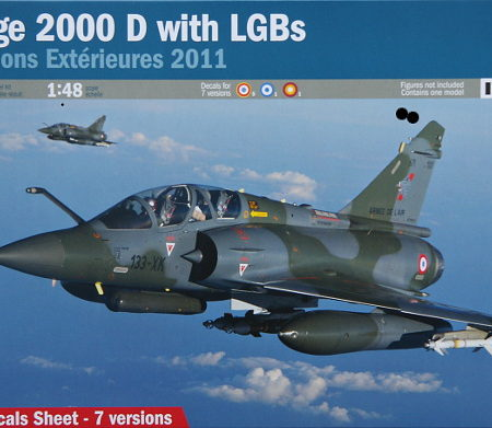 Mirage 2000D with LGBs No 2707