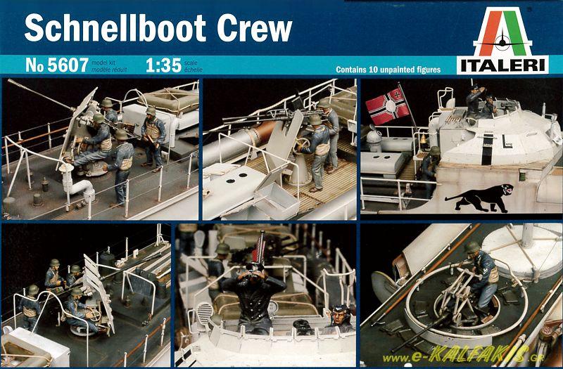 Schnellboot Crew No 5607