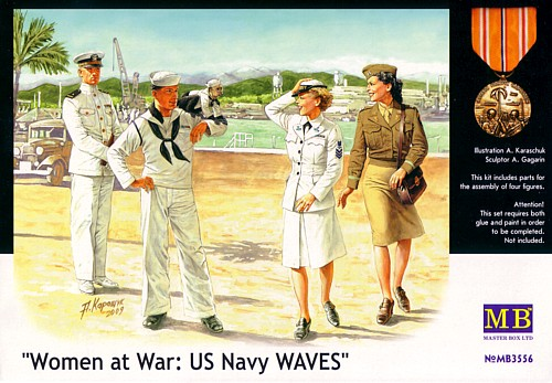 Women at War: US Navy WAVES No MB3556
