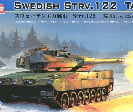 SWEDISH STRV. 122 TANK No 82404