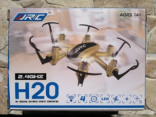 JJRC H20 6 axis 2,4GHz gyro drone